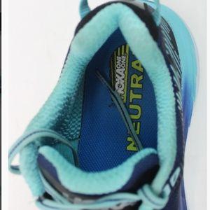 Women's Hoka Neutral Running Shoes Blue Size 8.5